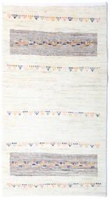Loribaft ペルシャ 絨毯 80X144 モダン 手織り ベージュ/ホワイト/クリーム色 (ウール, ペルシャ/イラン)