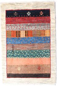 Loribaft ペルシャ 絨毯 62X96 モダン 手織り ベージュ/錆色 (ウール, ペルシャ/イラン)