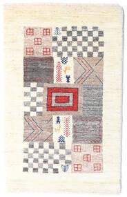 Loribaft ペルシャ 絨毯 60X95 モダン 手織り ホワイト/クリーム色/薄い灰色 (ウール, ペルシャ/イラン)
