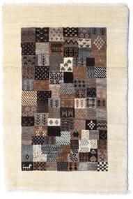 Loribaft ペルシャ 絨毯 60X90 モダン 手織り ベージュ/濃い茶色 (ウール, ペルシャ/イラン)