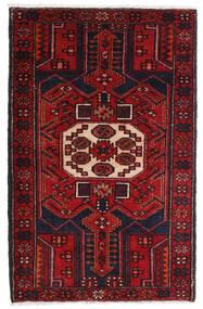 ハマダン 絨毯 80X130 オリエンタル 手織り 深紅色の (ウール, ペルシャ/イラン)