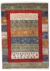 Loribaft ペルシャ 絨毯 65X91 モダン 手織り ベージュ/濃いグレー (ウール, ペルシャ/イラン)