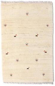 Loribaft ペルシャ 絨毯 58X90 モダン 手織り ベージュ (ウール, ペルシャ/イラン)
