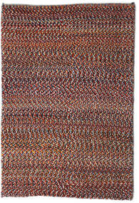 Loribaft ペルシャ 絨毯 61X90 モダン 手織り 深紅色の/濃い茶色 (ウール, ペルシャ/イラン)