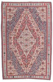 キリム センネ 絨毯 148X225 オリエンタル 手織り 濃いグレー/薄い灰色 (ウール, ペルシャ/イラン)