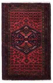ハマダン 絨毯 83X135 オリエンタル 手織り 深紅色の (ウール, ペルシャ/イラン)