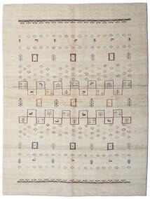 Loribaft ペルシャ 絨毯 176X234 モダン 手織り 薄い灰色/暗めのベージュ色の (ウール, ペルシャ/イラン)