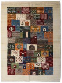 Loribaft ペルシャ 絨毯 174X238 モダン 手織り 濃い茶色/ベージュ (ウール, ペルシャ/イラン)