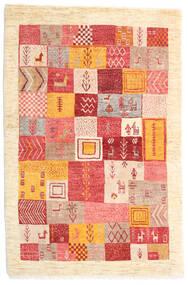 Loribaft ペルシャ 絨毯 103X153 モダン 手織り ベージュ/錆色 (ウール, ペルシャ/イラン)