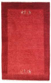 Loribaft ペルシャ 絨毯 79X128 モダン 手織り 赤/錆色 (ウール, ペルシャ/イラン)