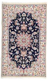 カシュマール 絨毯 77X130 オリエンタル 手織り ホワイト/クリーム色/薄い灰色 (ウール, ペルシャ/イラン)