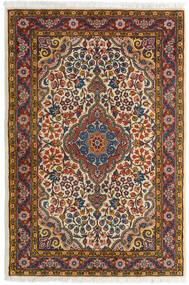 サルーク 絨毯 72X105 オリエンタル 手織り 濃い茶色/薄茶色 (ウール, ペルシャ/イラン)