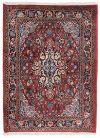 ハマダン シャフバフ 絨毯 71X95 オリエンタル 手織り 深紅色の/薄い灰色 (ウール, ペルシャ/イラン)