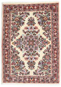 ハマダン シャフバフ 絨毯 65X90 オリエンタル 手織り ベージュ/薄い灰色 (ウール, ペルシャ/イラン)