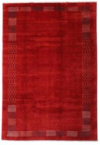 Loribaft ペルシャ 絨毯 202X294 モダン 手織り 錆色/深紅色の (ウール, ペルシャ/イラン)