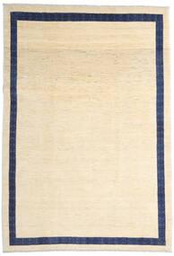 Loribaft ペルシャ 絨毯 216X309 モダン 手織り ベージュ/濃い紫 (ウール, ペルシャ/イラン)