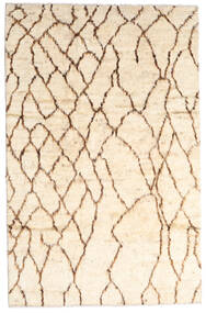 Moroccan Berber - Afghanistan 絨毯 187X294 モダン 手織り ベージュ/ライトピンク (ウール, アフガニスタン)