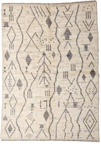 Moroccan Berber - Afghanistan 絨毯 167X234 モダン 手織り 薄い灰色/ベージュ (ウール, アフガニスタン)