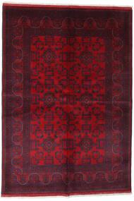 アフガン Khal Mohammadi 絨毯 162X234 オリエンタル 手織り 深紅色の/赤 (ウール, アフガニスタン)