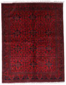 アフガン Khal Mohammadi 絨毯 174X220 オリエンタル 手織り 深紅色の/赤 (ウール, アフガニスタン)