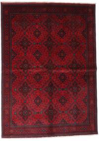 アフガン Khal Mohammadi 絨毯 168X232 オリエンタル 手織り 深紅色の/赤 (ウール, アフガニスタン)
