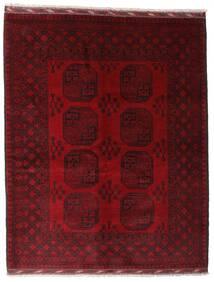 アフガン 絨毯 158X199 オリエンタル 手織り 深紅色の/濃い茶色 (ウール, アフガニスタン)