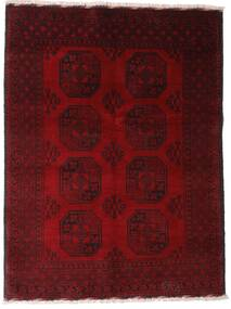 アフガン 絨毯 147X195 オリエンタル 手織り 深紅色の/濃い茶色 (ウール, アフガニスタン)