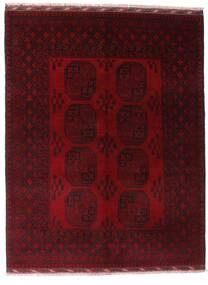 アフガン 絨毯 154X201 オリエンタル 手織り 深紅色の (ウール, アフガニスタン)