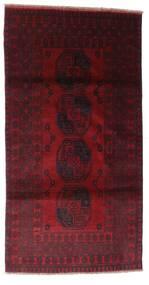 アフガン 絨毯 103X196 オリエンタル 手織り 深紅色の (ウール, アフガニスタン)