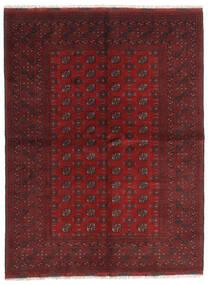 アフガン 絨毯 172X229 オリエンタル 手織り 深紅色の/濃い茶色 (ウール, アフガニスタン)