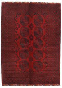 アフガン 絨毯 179X247 オリエンタル 手織り 深紅色の/濃い茶色 (ウール, アフガニスタン)