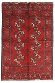 アフガン 絨毯 165X246 オリエンタル 手織り 深紅色の/錆色 (ウール, アフガニスタン)