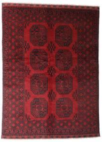 アフガン 絨毯 146X195 オリエンタル 手織り 深紅色の (ウール, アフガニスタン)