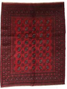アフガン 絨毯 150X188 オリエンタル 手織り 深紅色の (ウール, アフガニスタン)