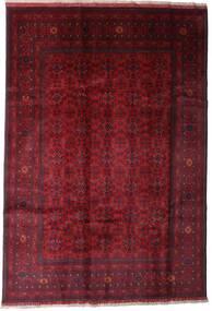 アフガン Khal Mohammadi 絨毯 197X289 オリエンタル 手織り 深紅色の (ウール, アフガニスタン)