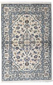 カシャン 絨毯 100X150 オリエンタル 手織り 薄い灰色/濃いグレー (ウール, ペルシャ/イラン)