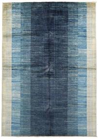 Battuta 絨毯 170X231 モダン 手織り 紺色の/水色 (ウール, アフガニスタン)
