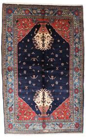 ギャッベ キャシュクリ 絨毯 155X246 モダン 手織り 濃い紫/黒 (ウール, ペルシャ/イラン)