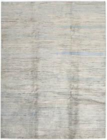 モダン アフガン 絨毯 207X273 モダン 手織り 薄い灰色/暗めのベージュ色の (ウール, アフガニスタン)