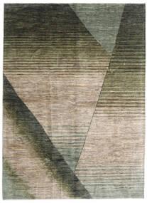 Battuta 絨毯 175X239 モダン 手織り 薄い灰色/深緑色の (ウール, アフガニスタン)