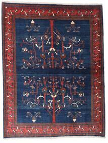 ギャッベ キャシュクリ 絨毯 154X200 モダン 手織り 濃い紫/紺色の (ウール, ペルシャ/イラン)