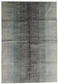 モダン アフガン 絨毯 198X290 モダン 手織り 薄い灰色 (ウール, アフガニスタン)