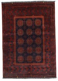 Kunduz 絨毯 145X201 オリエンタル 手織り 深紅色の (ウール, アフガニスタン)