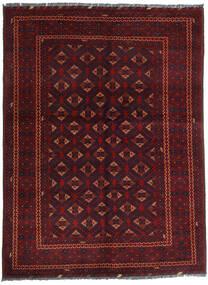 Kunduz 絨毯 145X195 オリエンタル 手織り 深紅色の (ウール, アフガニスタン)