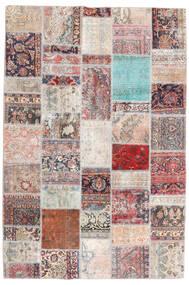 パッチワーク - Persien/Iran 絨毯 200X299 モダン 手織り 薄い灰色/ライトピンク (ウール, ペルシャ/イラン)