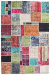 パッチワーク - Persien/Iran 絨毯 200X300 モダン 手織り 薄い灰色/濃いグレー (ウール, ペルシャ/イラン)