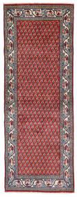 サルーク Mir 絨毯 74X204 オリエンタル 手織り 廊下 カーペット 濃い紫/薄い灰色 (ウール, ペルシャ/イラン)