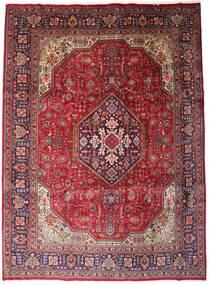 タブリーズ 絨毯 258X354 オリエンタル 手織り 深紅色の/濃い茶色 大きな (ウール, ペルシャ/イラン)