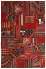 Tekkeh キリム 絨毯 200X302 モダン 手織り 深紅色の/錆色 (ウール, ペルシャ/イラン)