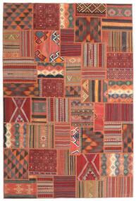 Tekkeh キリム 絨毯 200X302 モダン 手織り 深紅色の/赤 (ウール, ペルシャ/イラン)
